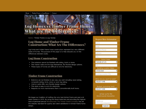 SEO Search Engine Optimization for Woodhouse