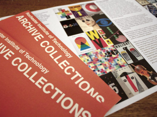 Brochure Design for Rochester Institute of Technology Design Archives