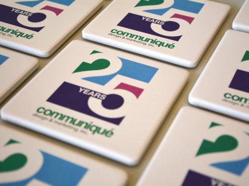 Communique Logo 25 Years