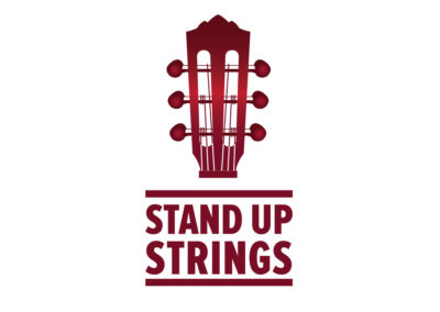 Logo Design and Brand Strategy Stand Up Strings